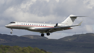 9H-VJS - Bombardier BD-700-1A10 Global 6000 - VistaJet