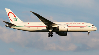 CN-RGU - Boeing 787-8 Dreamliner - Royal Air Maroc (RAM)