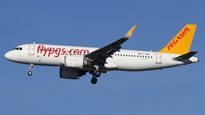 A picture of TCNBD - Airbus A320251N - Pegasus Airlines - © Frank Specker
