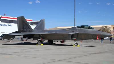 06-4116 - Lockheed Martin F-22A Raptor - United States - US Air Force (USAF)