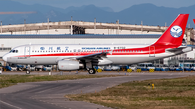 A picture of B6732 - Airbus A320232 - Sichuan Airlines - © Junhan Zhu