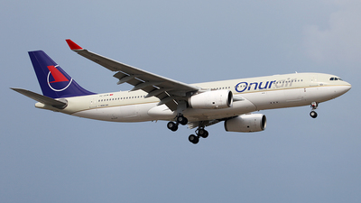 TC-OCM - Airbus A330-243 - Onur Air