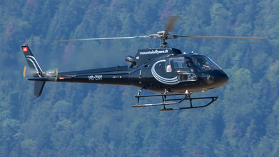 HB-ZNY - Eurocopter AS 350B2 Ecureuil - Mountain Flyers