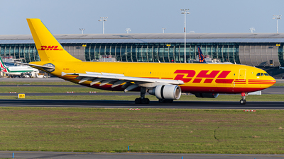 A picture of EIDGU - Airbus A300B4622R(F) - DHL - © J.Evrard-AirTeamImages