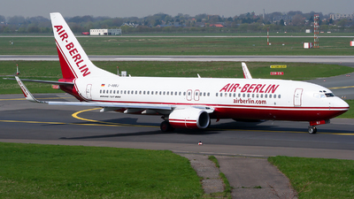 D-ABBJ - Boeing 737-86Q - Air Berlin