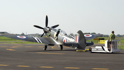 NX969SM - Supermarine Spitfire XVIIIE - Private