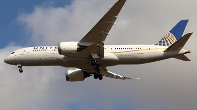 N27901 - Boeing 787-8 Dreamliner - United Airlines