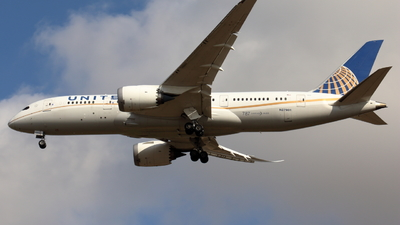 A picture of N27901 - Boeing 7878 Dreamliner - United Airlines - © Sander in West-Africa