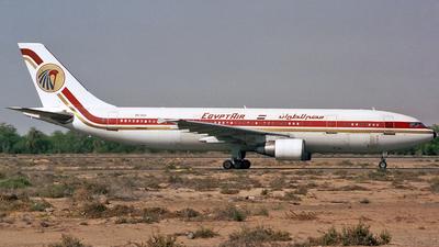 SU-GAX - Airbus A300B4-622R - EgyptAir
