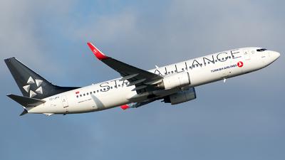 TC-JFH - Boeing 737-8F2 - Turkish Airlines