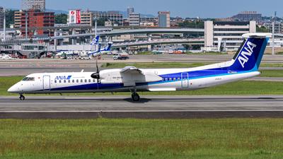 A picture of JA845A - De Havilland Canada Dash 8400 - All Nippon Airways - © Shinya Shirouchi