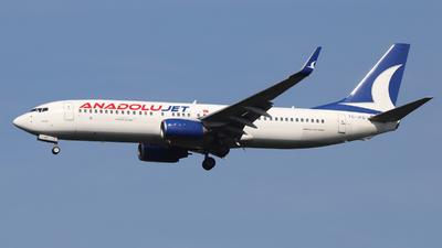 A picture of TCJFD - Boeing 7378F2 - Turkish Airlines - © Holger Eultgen