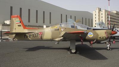 KAF107 - Short Tucano T.1 - Kuwait - Air Force