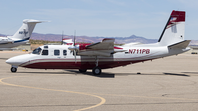 N711PB - Rockwell 690B Turbo Commander - Private