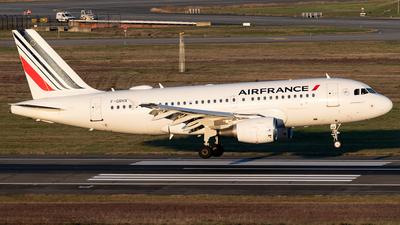 A picture of FGRHX - Airbus A319111 - Air France - © DN280