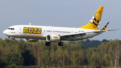 SP-RZB - Boeing 737-8-200 MAX - Buzz