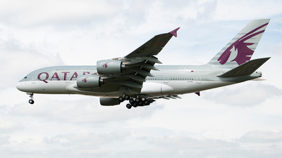 A7-APC - Airbus A380-861 - Qatar Airways