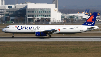 TC-ONJ - Airbus A321-131 - Onur Air