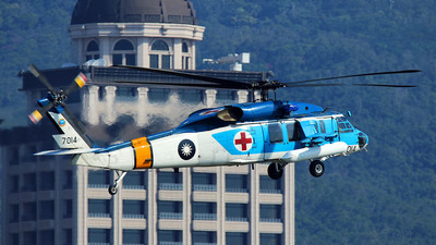 7014 - Sikorsky S-70 Seahawk - Taiwan - Air Force