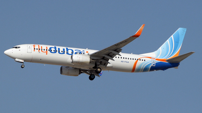 A6-FGA - Boeing 737-8KN - flydubai