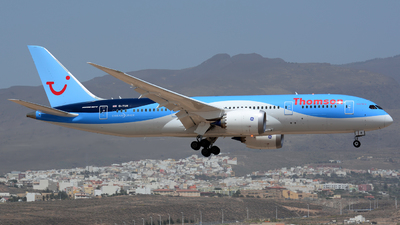 G-TUII - Boeing 787-8 Dreamliner - Thomson Airways
