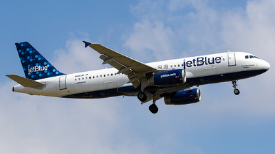 N618JB - Airbus A320-232 - jetBlue Airways