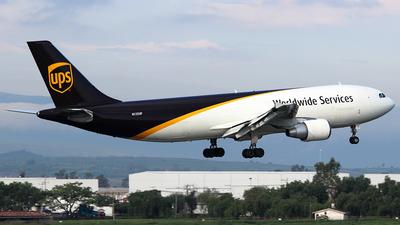 A picture of N135UP - Airbus A300F4622R - UPS Airlines - © Rene Bernardo Olmos Bernal