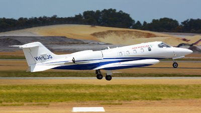 VH-LJG - Gates Learjet 35A - Private