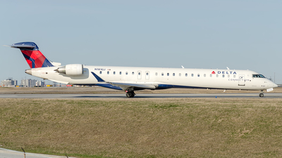 A picture of N181GJ - Mitsubishi CRJ900LR - Delta Air Lines - © Wayne Wilson