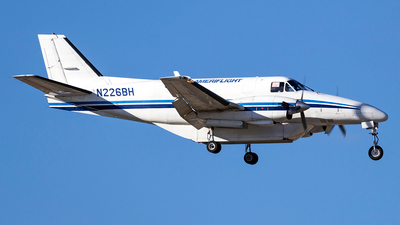 A picture of N226BH - Beech C99 Airliner - Ameriflight - © xuxinyi1000