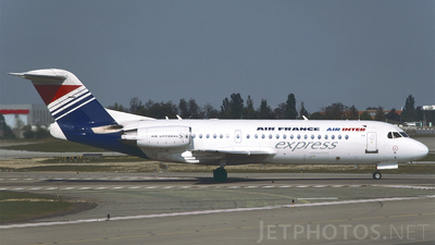 F-GLIV - Fokker 70 - Air France/Air Inter Express (Air Littoral)