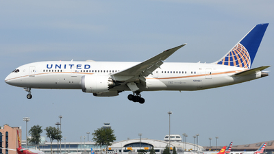 N29907 - Boeing 787-8 Dreamliner - United Airlines
