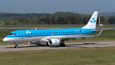 PH-EZU - Embraer 190-100STD - KLM Cityhopper