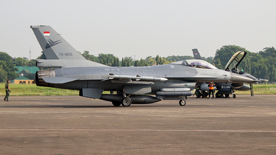 TS-1605 - General Dynamics F-16A Fighting Falcon - Indonesia - Air Force
