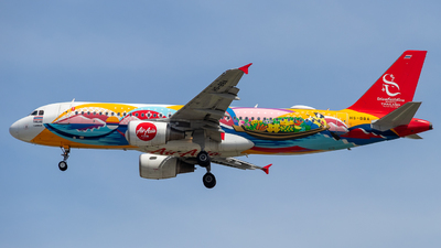 A picture of HSBBA - Airbus A320214 - AirAsia - © Theodore Chan