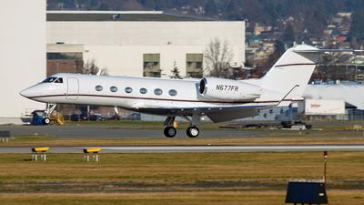 N677FR - Gulfstream G-IV - Private