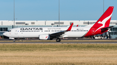 A picture of VHVYK - Boeing 737838 - Qantas - © Andrew Lesty
