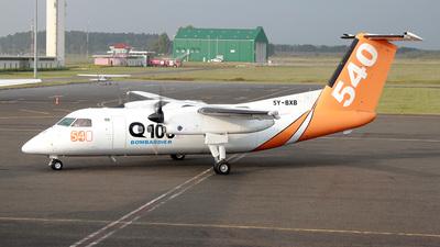 A picture of 5YBXB - De Havilland Canada Dash 8100 - [213] - © Mike Ward