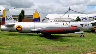 FAC2020 - Lockheed T-33 Shooting Star - Colombia - Air Force