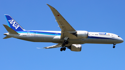 JA875A - Boeing 787-9 Dreamliner - All Nippon Airways (ANA)