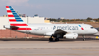A picture of N821AW - Airbus A319132 - American Airlines - © Saul Hannibal