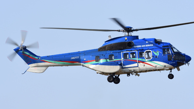 JA6777 - Aérospatiale AS 332L1 Super Puma - Tohoku Air Service (TAS)