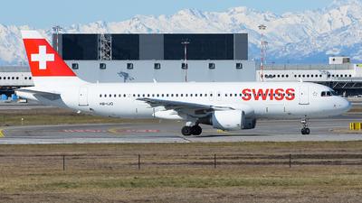 A picture of HBIJQ - Airbus A320214 - Swiss - © Luca Cesati