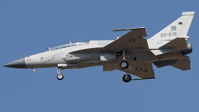 20-615 - Chengdu JF-17B Thunder - Pakistan - Air Force
