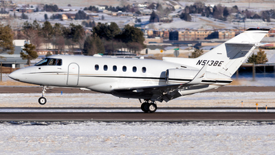 N513BE - Raytheon Hawker 800XP - Private