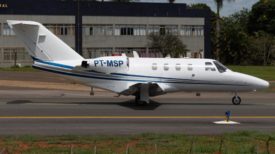 PT-MSP - Cessna 525 CitationJet 1 - Lifejet
