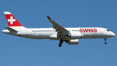 A picture of HBJCP - Airbus A220300 - Swiss - © Stefan Bayer