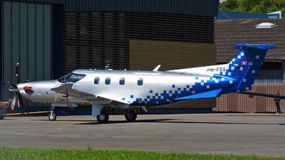 A picture of HBFSS - Pilatus PC12/47E - Pilatus Flugzeugwerke - © Jeremy Denton