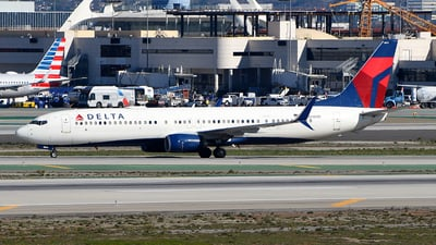 A picture of N814DN - Boeing 737932(ER) - Delta Air Lines - © Rocky Wang