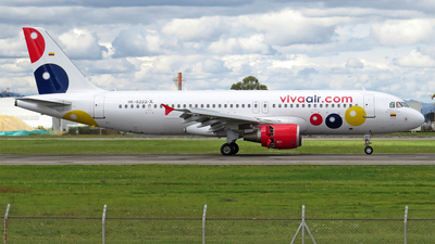 HK-5222-X - Airbus A320-214 - VivaColombia